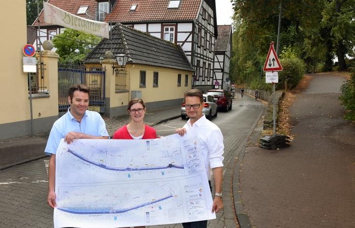 Pläne für den Ausbau der Ulrich-Jakobi-Wallstraße